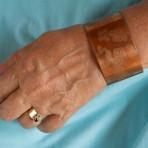 Copper Inspirational Cuff Bracelet