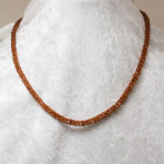 Copper viking knit chain